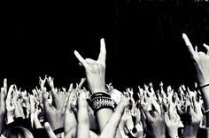 Hands in the air ...