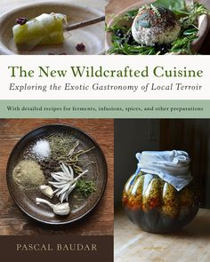 My new book is released today. 432 pages of ideas related to what you can do with wild food. From making infused salts to wild beers, wines, vinegars, spices and so much more. Available on Amazon. http://www.amazon.com/New-Wildcrafted-Cuisine-Exploring-Gastronomy/dp/1603586067/ref=sr_1_1?s=books&ie=UTF8&qid=1458481934&sr=1-1&keywords=The+New+Wildcrafted+Cuisine