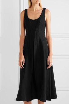 Tibi - Stretch-knit Midi Dress - Black - US10
