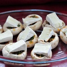 Nadziewane pieczarki na grilla Special Recipes, Snacks, Food Photo, Food Inspiration, Appetizer Recipes, Good Food, Food And Drink, Cooking Recipes, Impreza