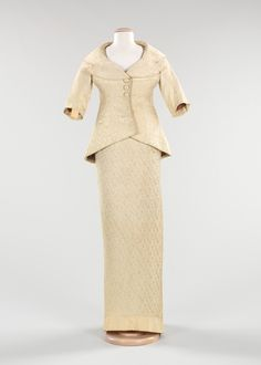 dinner suit ca. 1956 via The Costume Institute of The Metropolitan Museum of Art