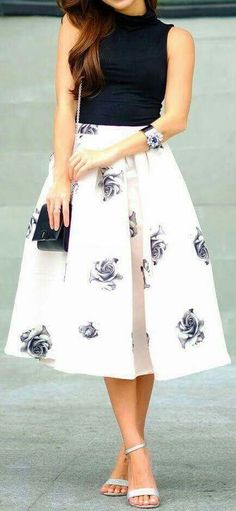 Clásica wedding guest midi skirts, guest at wedding outfit, wedding dresses, jw fashion Jw Fashion, Modest Fashion, Look Fashion, Skirt Fashion, Fashion Dresses, Womens Fashion, Fashion Spring, Trendy Fashion, Trendy Style