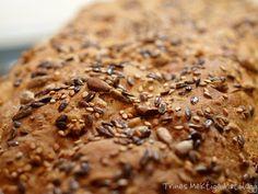 5-kornbrød à la Åpent Bakeri | TRINES MATBLOGG Banana Bread, Desserts, Food, Tailgate Desserts, Deserts, Essen, Postres, Meals, Dessert
