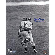 Don Larsen Signed Perfect Game Hug B/W 11x14 Photo w/ PG insc  #coolstuff #gameroom #recroom#Memorabilia #FREEGIFTCARD #Baseball #NewYorkYankees