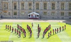 The 1st Battalion Welsh Guards, whose Colour was due to be trooped this year at The Queen'... Will Arnett, Iggy Azalea, Buckingham Palace Garden Party, Trooping The Colour, Queen's Official Birthday, Autumn Phillips, Queens Guard, Non Commissioned Officer, Lance Corporal