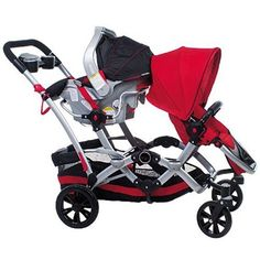 Double Stroller That Can Change Seat Positions So Babies