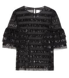 HUISHAN ZHANG  Beau sequinned blouse