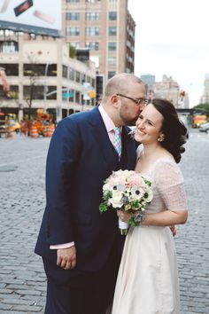 Erin & Greg | NY City Hall Wedding, Meatpacking District, The High Line