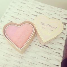 Too faced makeup #heart #toofaced