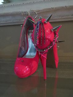 High Heel Platform Spiked Women Shoes Prom Spring by Spikesbyg