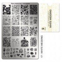 Moyra Stampingplatte - White Wedding 17