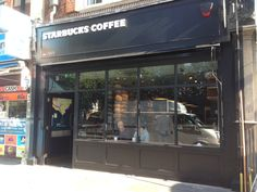 Victorian Blind For Starbucks By Deans Blinds & Awnings