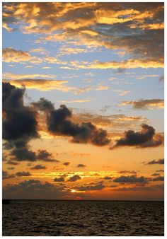Sky Colours, Lighthouse Reef, Belize Copyright: Pedro Carmo
