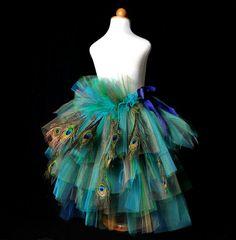Peacock skirt