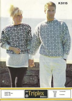 k 5115 Vintage Knitting, Hand Knitting, Knitting Patterns, Norwegian Knitting, Hand Knitted Sweaters, Color Combinations, Men Sweater, Crochet, Vests