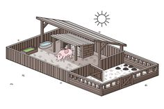 How to Set up a Pig Pen (with Pictures)