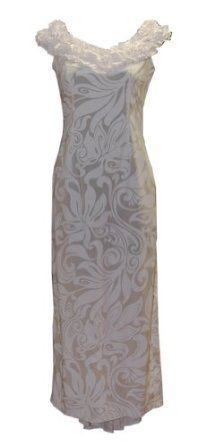 Jade Fashions Inc. Womens Hanalei Hawaiian Wedding Dress