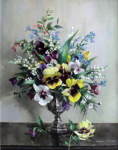 Vernon Ward painting
