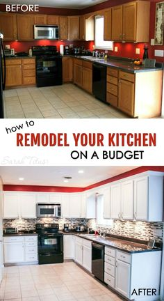 how to remodel your kitchen on a budget - Cheap Kitchen Remodel Ideas