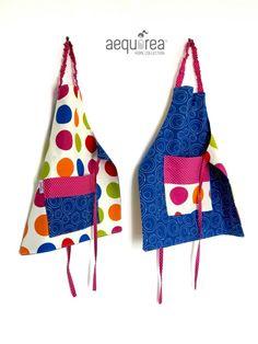 Aequorea kid's apron