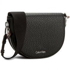 aac77e0d40946 Torebka CALVIN KLEIN BLACK LABEL - Quinn Saddle Bag K60K602216 001