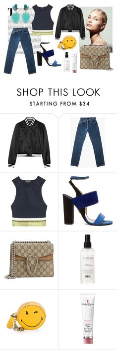 Designer Clothes, Shoes & Bags for Women Paul Andrew, Anya Hindmarch, Balmain, Color Blocking, Gucci, Shoe Bag, Polyvore, Stuff To Buy, Shopping