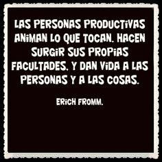 """Más valdría enfocarse en ser productivo y rodearse de personas productivas ( personas productivas.. pero bien entendido lo de """"productivas"""";)"""