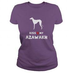 Cool #TeeForAzawakh Kiss my Azawakh - Azawakh Awesome Shirt - (*_*)