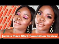 I'm trying out a foundation stick! Yall know how I feel about a stick foundation, I don't really bangs with them. Juvias Place, Foundation Stick, Dip Brow, Estee Lauder Double Wear, Brow Pomade, Pat Mcgrath, Makeup Videos, Congo
