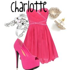 Charlotte, created by sydney-emerson on Polyvore