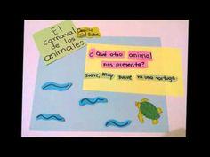 Carnaval de los animales #moocarteytic #videocomic  Elegí la clase de música, que es mi área de trabajo, para elaborar este video comic, con él los alumnos podrán conocer 7 de las piezas de el Carnaval de los animales de Camille Saint-Saëns.