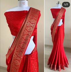 Fancy Sarees Party Wear, Saree Designs Party Wear, Designer Party Wear Dresses, Designer Wear, Silk Saree Blouse Designs, Saree Blouse Patterns, Kurta Designs, Dress Patterns, Saree Look