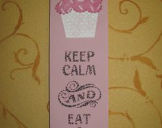 Etsy の Cupcake Sign by bubee