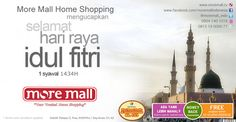 More Mall mengucapkan Selamat Hari Raya Idul Fitri 1 Syawal 1434 H