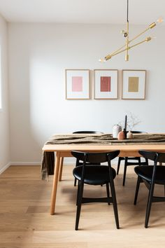 Browse our range of light, medium and dark timber flooring options. We offer a variety of groove types, gloss levels and plank widths to suit all styles. Home Decor Bedroom, Interior Design Living Room, Scandinavian Dining Room, Dining Room Style, Interior Design, Flooring Trends, Home Decor, House Interior, Room