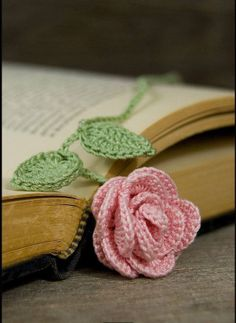 This is so pretty. No pattern, but I have a few ideas that could maybe make this reality. Love the idea of using it for a bookmark.