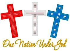 One Nation Applique - 3 Sizes!   4th of July   Machine Embroidery Designs   SWAKembroidery.com Band to Bow