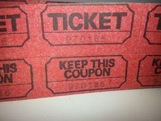 Tickets Ephemera Scrapbooking Tickets Shop by SuzyQsVintageShop, $1.50