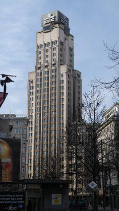Antwerp's very first skyscraper 1930 Belgium Europe, Antwerp Belgium, Study Abroad, Empire State Building, Skyscraper, Travel, Skyscrapers, Viajes, Destinations