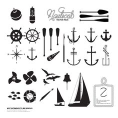 Simple and Clean Nautical Vectors