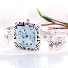 Vintage Spoon Watch  Fortune Silverware Spoon Watch  by mcfmiller, $50.00