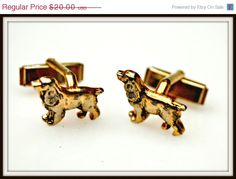 cocker spaniels  Dog Cuff links by serendipitytreasure on Etsy