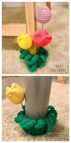 Scrap Yarn Chair Leg Socks Free Crochet Patterns & Paid - DIY Magazine