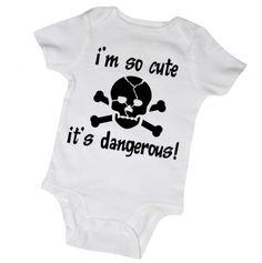 I'm So Cute It's Dangerous Onesie