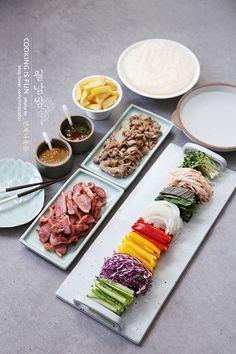 박보검도 좋아한다는 월남쌈 만들기, 땅콩소스 피쉬소스 만드는 법 feat.월남쌈 재료 손질 꼼꼼히! : 네이버 블로그 K Food, Food Menu, Easy Cooking, Cooking Recipes, Food Decoration, Korean Food, Food Design, Food Presentation, Food Plating