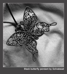 black butterfly by bodaszilvia.deviantart.com