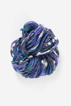 Daisy Chain Yarn in Blue Jay by Knit Collage - chunky bulky Hand knitting yarn