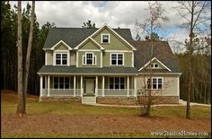 Traditional can refer several different design categories, such as Colonial, Cape Cod, and Ranch, depending on the region of the country. Traditional style homes are simplistic and symmetrical - and are usually two stories.