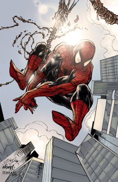 33 Spiderman Artwork Collections