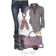 """Casual - #57"" by in-my-closet on Polyvore"